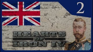 Hearts of Iron IV - The Great War #2 Ahistorical British Empire