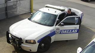Cop parks illegally. Does he get towed?