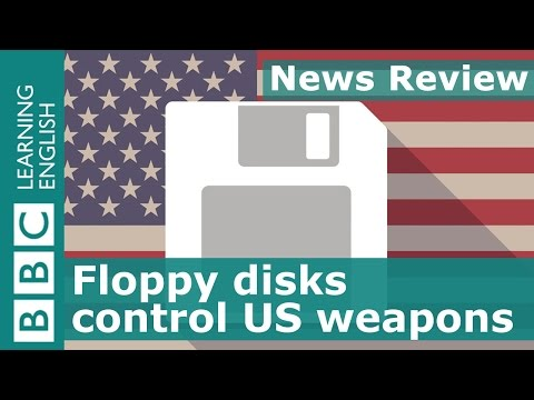 BBC News Review Floppy disks control US weapons