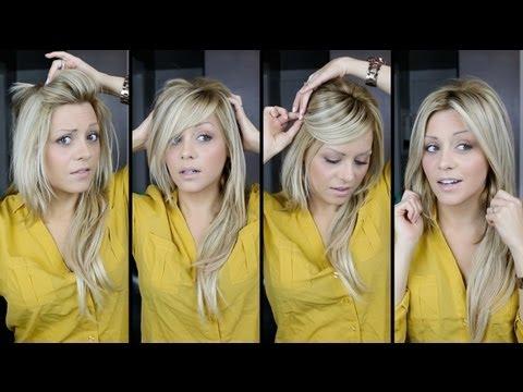 DIY: perfect Bangs, 4 Ways tutorial video