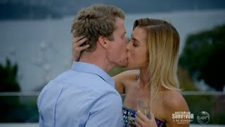 Bachelor Richie has passionate kiss with Alex on a single date