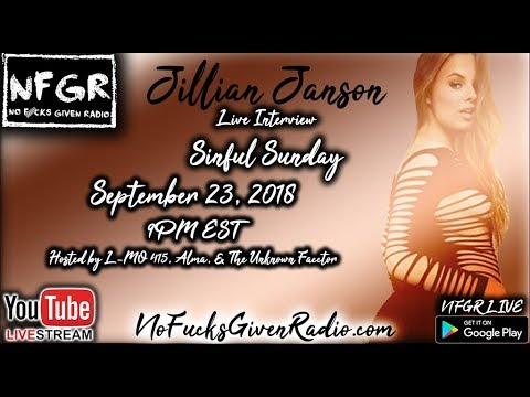 Xxx Mp4 LIVE Interview With Adult Film Star Jillian Janson Sinful Sunday Ep 6 NFGR SinfulSunday 3gp Sex