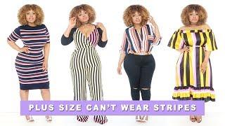 Who Said A Plus Size Girl Can't Wear Stripes? | Edee Beau