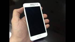 Samsung GALAXY A3 white color SM-A300H/DS