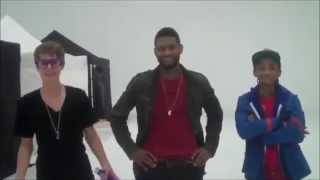 Justin Bieber, Usher, Jaden Smith Rehearsal Grammy Awards 2011 | All Clips