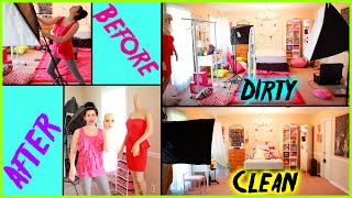 How To Clean Your Room!   Before & After! Spring Cleaning Inspiration!   Get Ready For Summer!