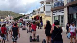 St. Maarten Shopping Area & Beach - Segway Ride