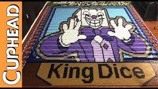 King Dice & Cuphead (IN 27,087 DOMINOES!)