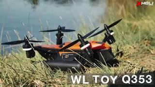 WL Toys Q353 Aeroamphibious Air Land Sea Quadcopter