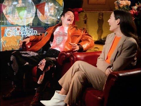 Xxx Mp4 Ezra Miller Claudia Kim Talk About Fantastic Beasts The Crimes Of Grindelwald 3gp Sex