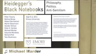 """""""The Other Jewish Question"""" by Michael Marder, Emory University, Sept. 2014"""
