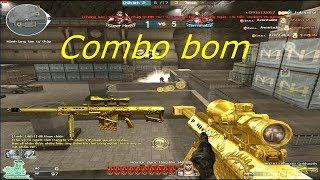 [ Bình Luận CF ] M82A1-Ultimate Goldsmith - Tiền Zombie v4