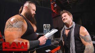 Chris Jericho hunts for