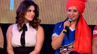 ye hai mohbatein Cast at Sunny Leone in Ekta Kapoor's 'Box Cricket League Season 2'