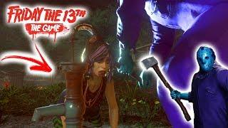 SEXTA FEIRA 13 - JASON NOVO RETRO MATANDO COM ANIMAÇÕES ESPECIAIS - Friday 13th The Game