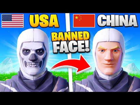 15 Things BANNED In Fortnite CHINA