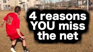 Why your soccer shots SUCK ► Soccer tips for more soccer goals