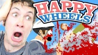 ONE SWORD DID THAT!!! - Happy Wheels