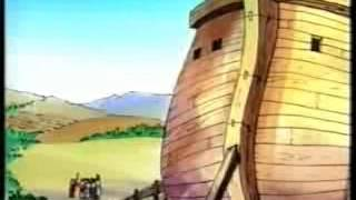 قصة نوح   سفينة النجاة   كارتون مسيحي للأطفال   حدوتة كتابية