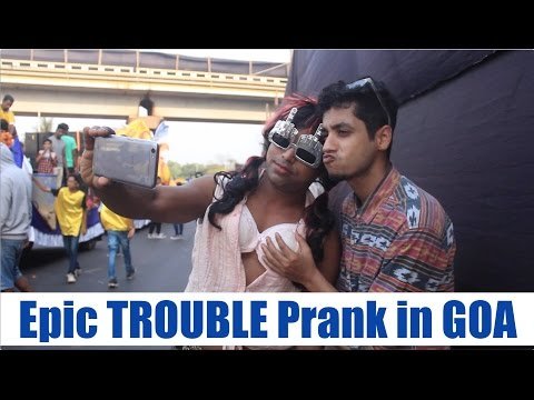 Epic Troubling Prank in GOA by Super Desi People (Pranks in India)