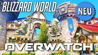 Neue Map: BLIZZARD WORLD | OVERWATCH