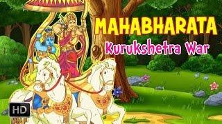 Mahabharata (The Epic) - Kurukshetra War - Full Animated Movie - Stories for Children