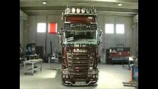 Scania R730 V8 Black Amber Tuning By Team Marra-Creating Tuning