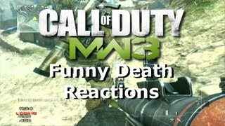 MW3 - Death Reactions 2