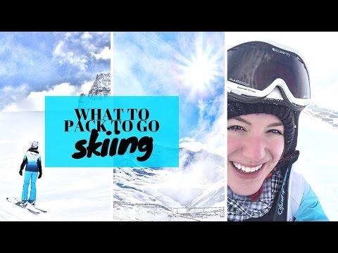 SKI PACKING LIST Essentials & Tips ❄ GIRL VS GLOBE