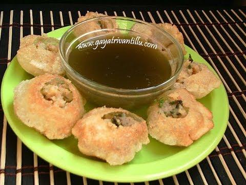 Paani Puri- Indian Andhra Telugu Food