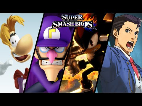 Super Smash Bros TOP 10 Fan Made Trailers Waluigi Shadow & More Wii U