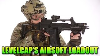 LevelCap's Airsoft Loadout: Total Gear Head To Toe (Airsoft GI)