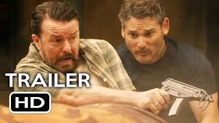 Special Correspondents Official Trailer #1 (2016) Ricky Gervais, Eric Bana Comedy Movie HD