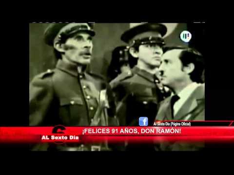 Los 91 años de Ramón Valdéz momentos inolvidables del entrañable Don Ramón 1 2