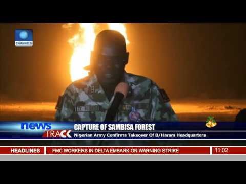 Nigerian Army Confirms Takeover Of B/Haram Headquarters