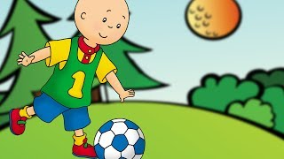 Caillou Stop Motion | Caillou plays football | Funny Animated cartoons for kids | WATCH ONLINE