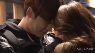 Lee Jong Suk & Park Shin Hye ♥♥♥ Lovely  Moment [Pinocchio BTS]