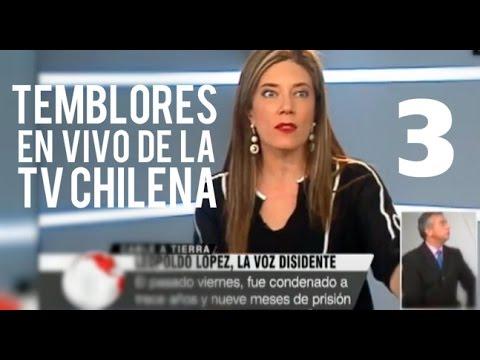 Temblores en vivo de la tv chilena Parte 3 act 2015