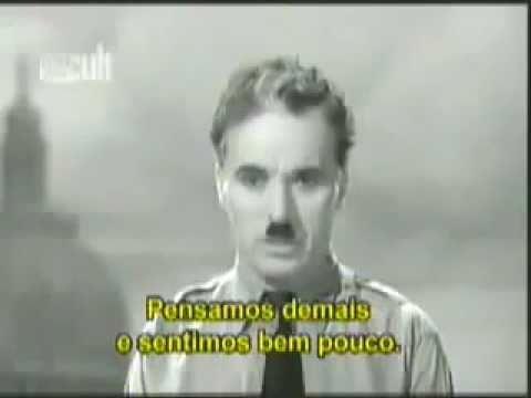 Charlie Chaplin desafia os illuminati