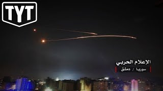 Israel Bombs Iranian Forces In Attempt To Start War