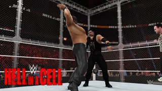 WWE-2K16-Roman Reigns vs Great Khali Hell In A Cell Match| WWE World Heavyweight ChampionShip 2016
