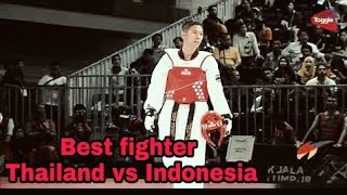 U-54 Ultimate Taekwondo fight Thailand vs Indonesia 2018.