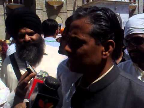 rajiv thakur on media coverage on basakhi 2011 MNA Ramesh lal.mp4