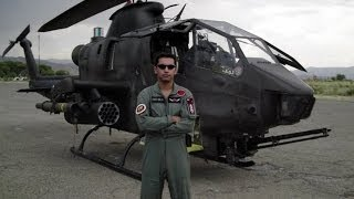 Pakistan Army Cobra Gunship helicopters in action
