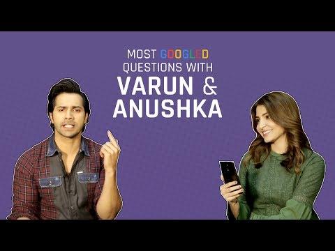 Xxx Mp4 MensXP Anushka Sharma And Varun Dhawan Answer The Most Googled Questions About Them 3gp Sex