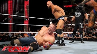 John Cena vs. Karl Anderson: Raw, June 20, 2016