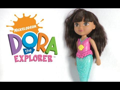 Dora and Friends Sparkle & Swim Mermaid Dora from Fisher-Price