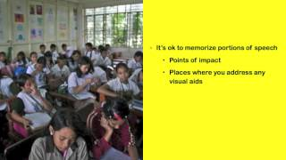 Oral Presentation - A How-To Guide