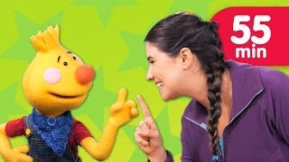 One Little Finger from Sing Along With Tobee | + More Kids Songs | Super Simple Songs
