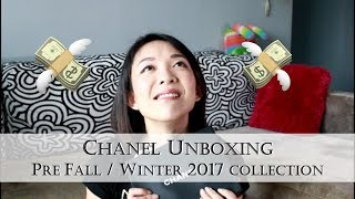 Chanel Unboxing | Pre Fall / Winter 2017 Collection | Kat L